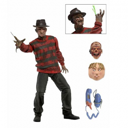 NECA Nightmare on Elm Street Ultimate Freddy 30th Anniversary 7-Inch Action Figure
